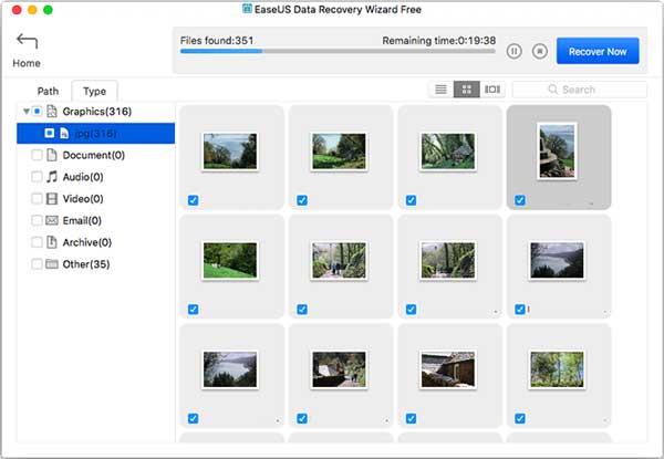 بازگرداندن تصاویر حذف شده از کارت حافظه جانبی با نرم افزار EaseUS Data Recovery Wizard