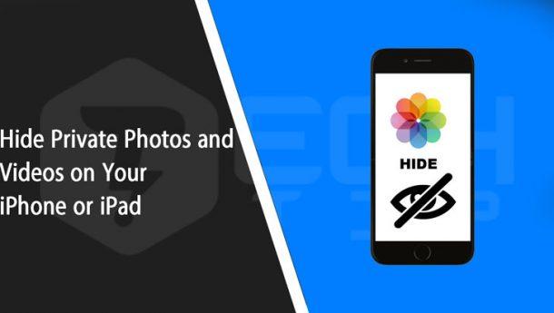 چگونه عکس و فیلم شخصی را در آیفون و آیپد مخفی کنیم ؟ مخفی کردن عکس در آیفون
