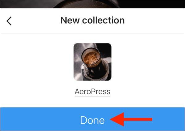 نحوه ذخیره پست های اینستاگرام و ساخت مجموعه