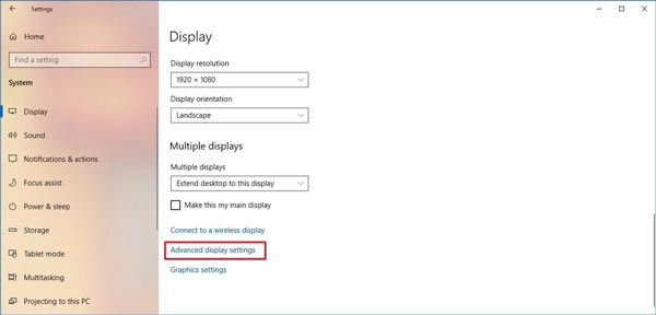 پیدا کردن مشخصات کارت گرافیک کامپیوتر و لپ تاپ در تنظیمات