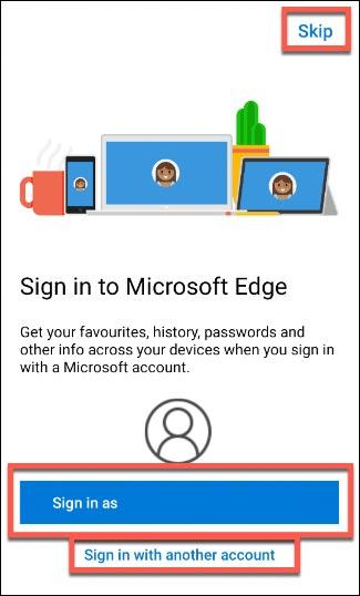نصب و راه اندازی مایکروسافت اج در اندروید