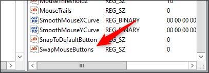 عوض کردن دکمه های موس با رجیستری ویندوز