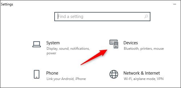 جا به جا کردن دکمه های موس از تنظیمات ویندوز 10
