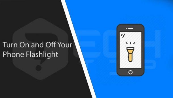 چگونه فلش گوشی را روشن کنیم ؟ آموزش روشن کردن چراغ قوه گوشی
