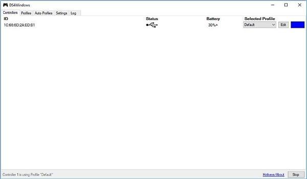 استفاده از برنامه DS4Windows برای وصل کردن دسته PS4 به سیستم