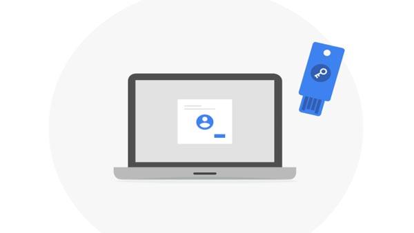 کلید امنیتی فیزیکی حساب گوگل چیست؟