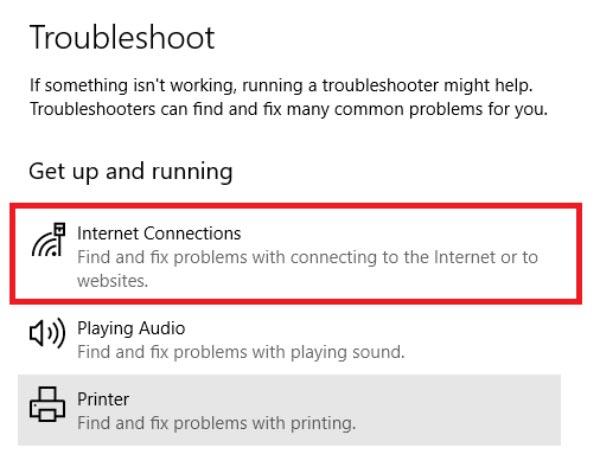 وای فای متصل است اما شما اینترنت ندارید