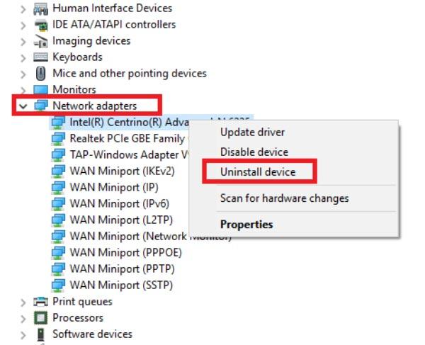 ویندوز 10 به وای فای وصل نمی شود