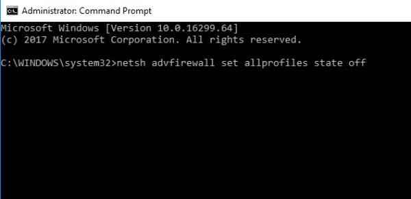 فایروال شما از اتصال به شبکه جلوگیری می کند