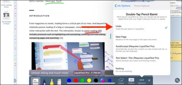 قابلیت دوبار ضربه قلم اپل را در برنامه های آیپد بررسی کنید
