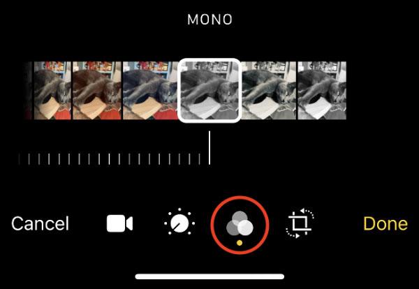 اعمال و حذف فیلتر در ویدئوهای آیفون و آیپد