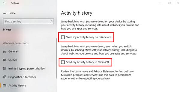 نحوه غیرفعال کردن ردیابی فعالیت در Timeline Windows 10