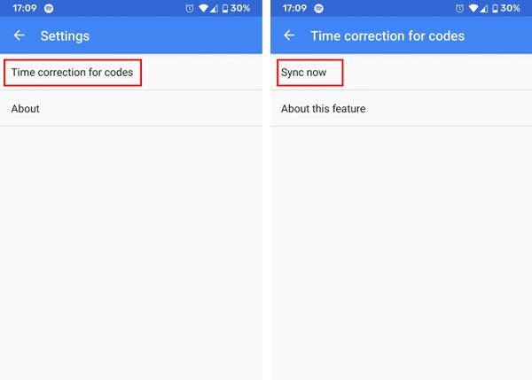 حل مشکل کد ندادن Google Authenticator