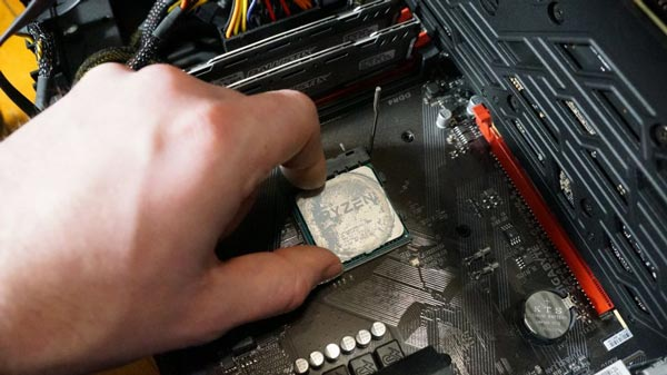 2- پردازنده خود را تنظیم کنید