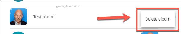 حذف دسترسی آلبوم های شیر شده در گوگل فوتو