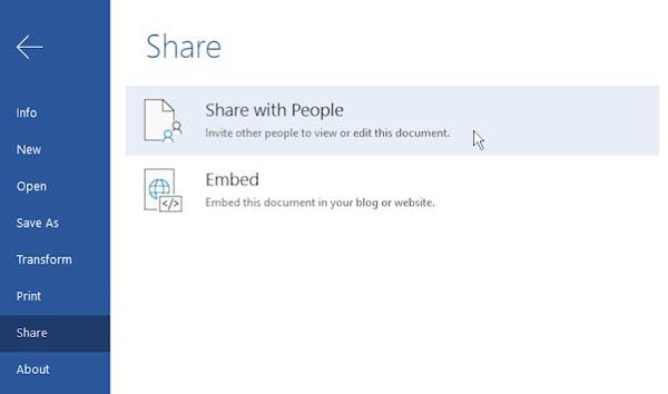 ذخیره و دانلود فایل های مایکروسافت آفیس