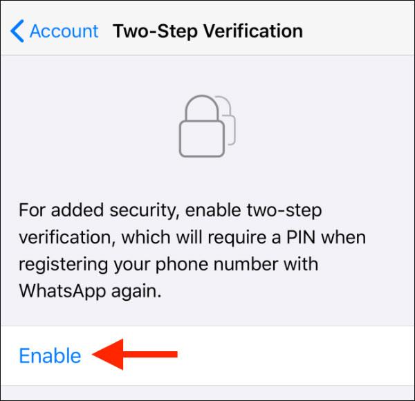 افزایش امنیت واتساپ با فعال کردن تأیید صحت دو مرحله ای