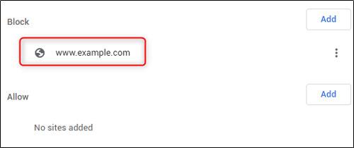 جاوا اسکریپت را برای سایت خاص غیرفعال کنید