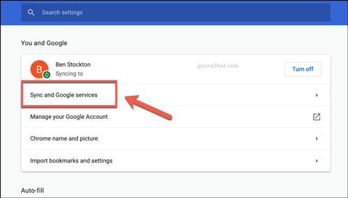 غیرفعال کردن ورود خودکار به اکانت گوگل در کروم