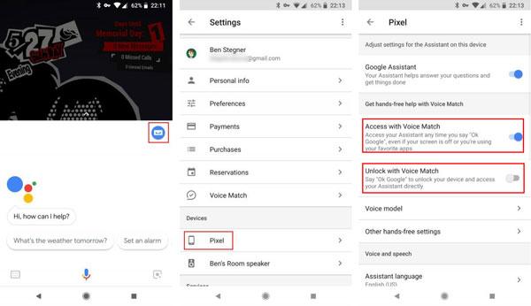 چگونه با دستیار گوگل قفل گوشی خود را باز کنیم؟