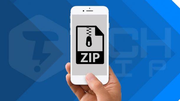 چگونه فایل ها را در آیفون و آیپد زیپ کنیم؟ آموزش در آوردن فایل ها از زیپ در آیفون