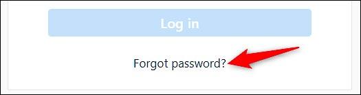 بازیابی رمز اینستاگرام (از وب سایت)
