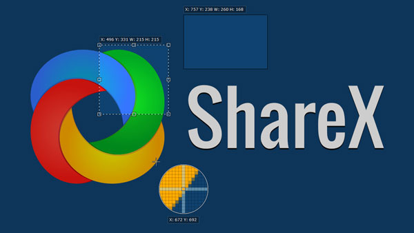 4- اسکرین شات از ویندوز : ShareX