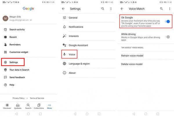 با استفاده از دستیار گوگل صفحه گوشی را قفل کنید