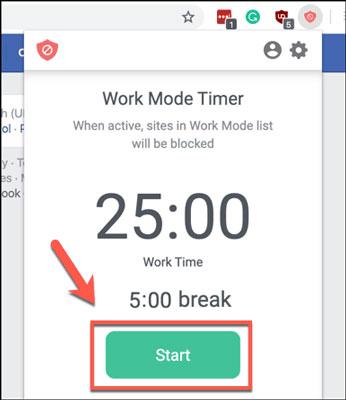 بلاک کردن سایت در کروم با استفاده از حالت کاری BlockSite