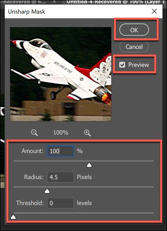 استفاده از فیلتر Unsharp Mask در فتوشاپ
