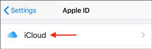 حذف ایمیل iCloud از آیفون یا آِیپد
