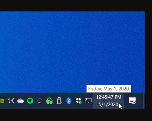 چگونه کاری کنیم که ساعت ویندوز 10 ثانیه ها را نیز نشان دهد ؟