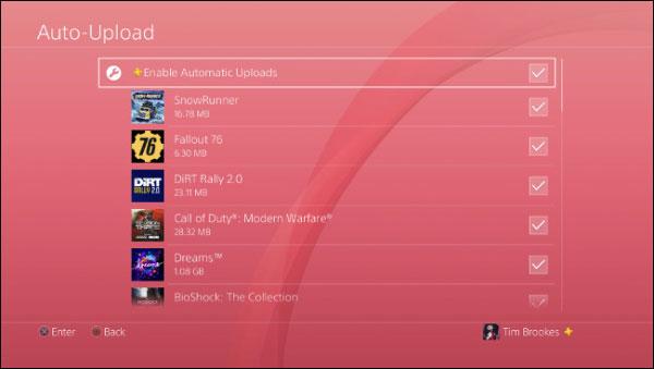 بک آپ از سیو بازی های PS4 به صورت خودکار در حساب ابری