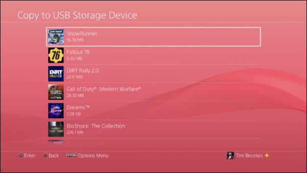 بک آپ از سیو بازی های PS4 در فلش یا هارد (رایگان)