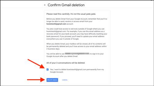 طریقه حذف کردن جیمیل بدون حذف اکانت گوگل