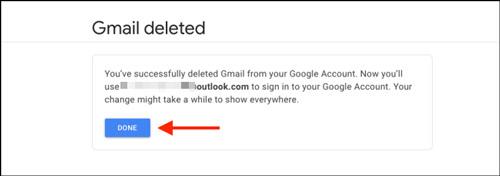 طریقه حذف اکانت جیمیل بدون حذف اکانت گوگل