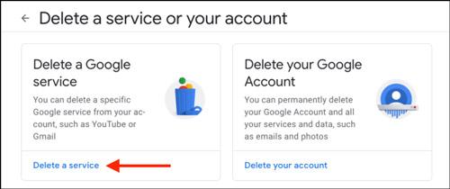 آموزش حذف جیمیل بدون حذف اکانت گوگل