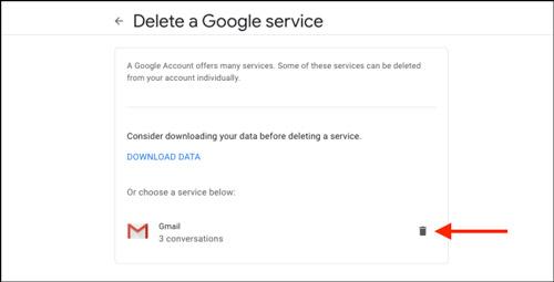نحوه حذف جیمیل بدون حذف حساب گوگل
