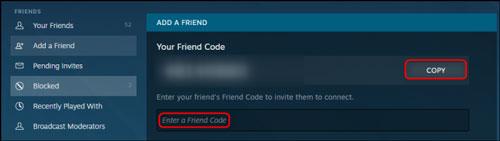 مشاهده کد استیم خود و اضافه کردن دوستان به استیم