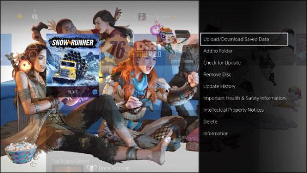 بک آپ از سیو بازی های PS4 به صورت دستی در حساب ابری