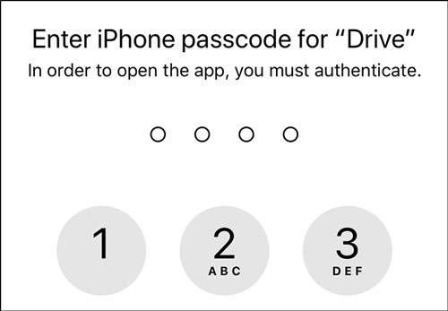 چگونه برای گوگل درایو در آیفون و آیپد رمز بزاریم