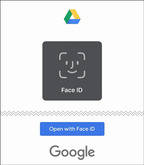 فعال کردن تشخیص چهره برای گوگل درایو در آیفون