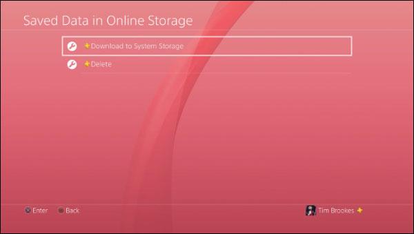 بازیابی بک آپ سیو بازی های PS4 از حساب ابری و هارد
