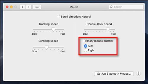 چگونه دکمه چپ و راست موس در مک را عوض کنیم