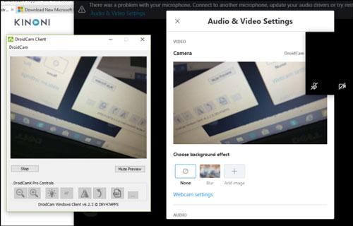 استفاده از گوشی اندروید به عنوان وب کم در ویندوز 10