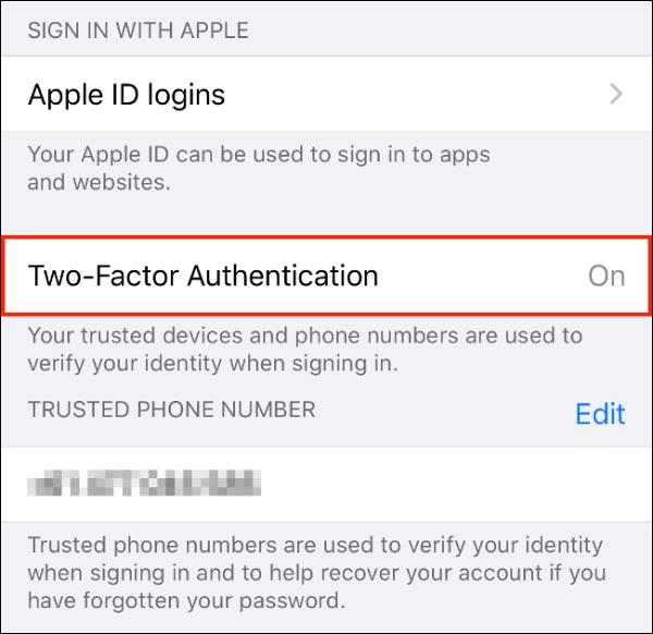 افزایش امنیت آپل آیدی و iCloud