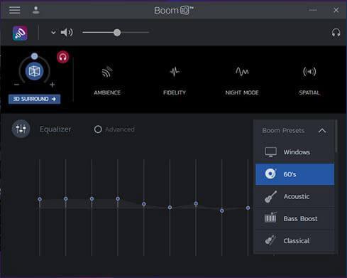 تقویت کننده صدای Boom 3D را به ویندوز اضافه کنید