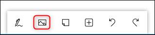 نحوه اضافه کردن تصویر در مایکروسافت وایت برد