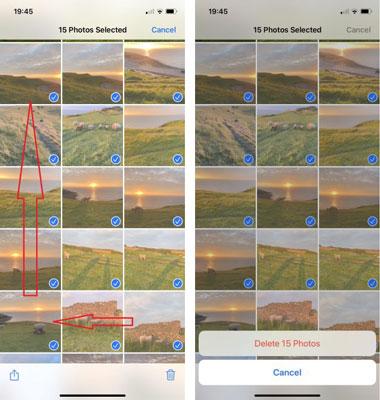 نحوه حذف همه عکس ها از آیفون به طور هم زمان