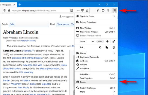 نحوه ذخیره وب سایت به عنوان PDF در ویندوز 10